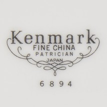 Kenmark Fine China Patrician 6894 Creamer Japan White Platinum Band Tabl... - $14.99