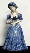 Vintage Peggy Porcher 'Duchess Devonshire' Goldscheider Figurine - $27.72