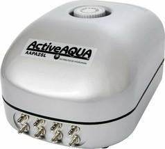 Hydrofarm Active Aqua Air Pump with 8 Outlets, 12W, 15 Lmin, 400 GPH | AAPA25L - $73.84