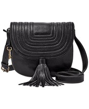 New Fossil Women's Emi Tassel Saddle Leather Crossbody Bags Variety Color - $128.69