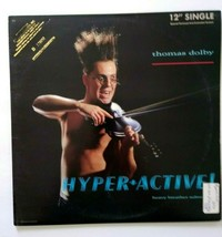 "Thomas Dolby Hyper Active 12"" Vinyl EP Record Synth-Pop New Wave Dolby's... - £8.62 GBP"