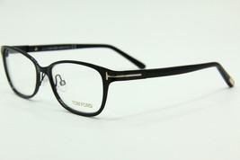 New Tom Ford Tf 5282 005 Black Eyeglasses Authentic Rx TF5282 52-16 W/CASE - $123.12