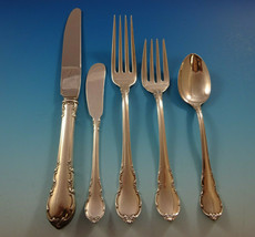 Modern Victorian by Lunt Sterling Silver Flatware Set For 8 Service 40 Pieces - $1,895.00