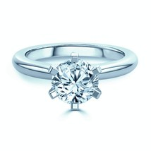 F-G /VS 0.50 Ct Natural Round Cut Diamond Solitaire Engagement Ring - $1,825.74
