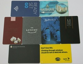 Raffles Europejski Hotel Warsaw Hotel Room Plastic Red Key Card Collectible