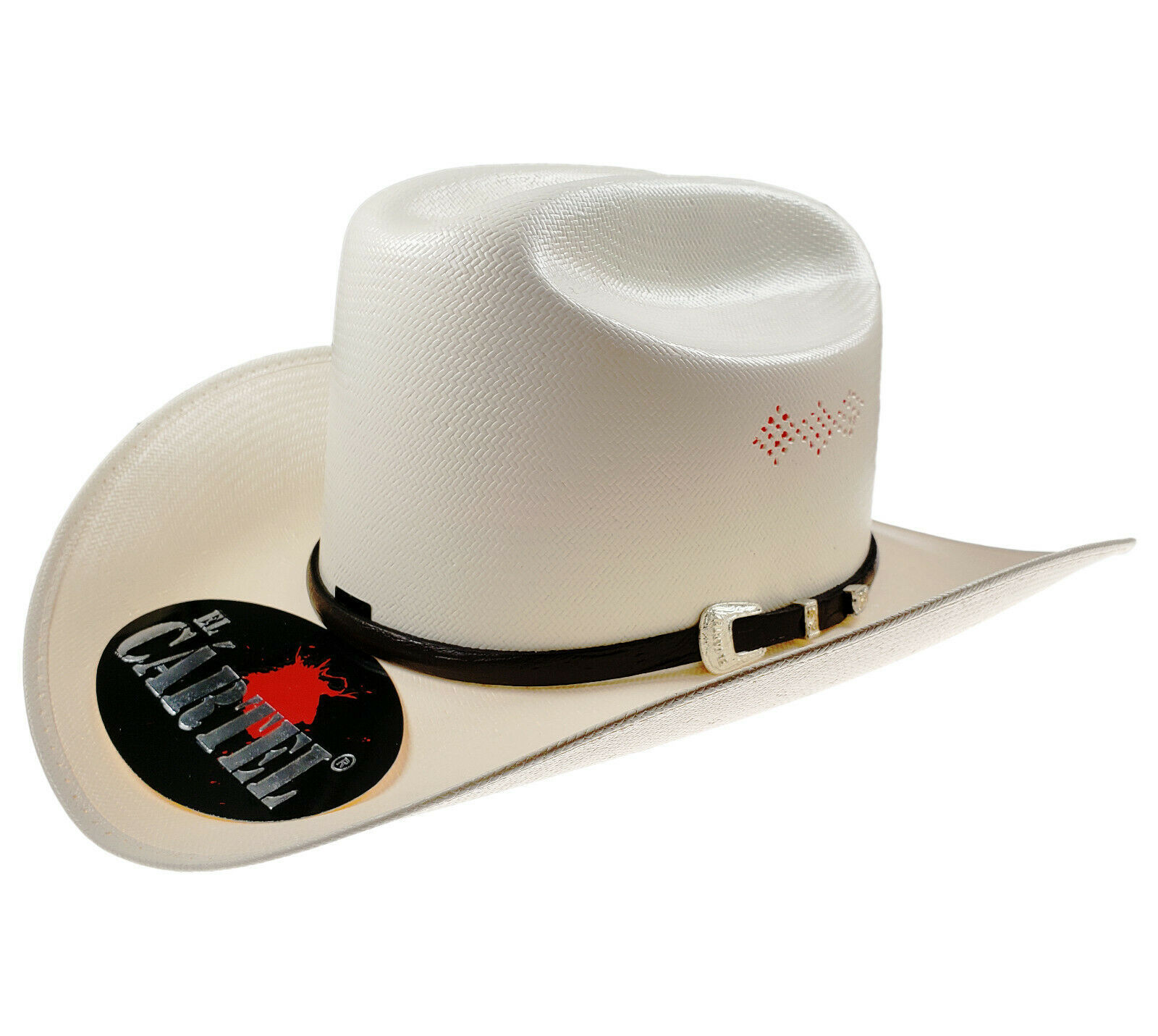 Primary image for Men's Western Hat El General Sombrero 1000X El Cartel 3 Diamonds Ivory