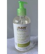 Raw Sugar Hand Sanitizer 9 fl. oz. Pump Bottle Coconut and Lemon Verbena - $9.95