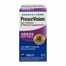Bausch + Lomb Preservision Areds 2 Eye Vitamins 120 Mini Soft Gels  - $42.56