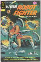 Magnus Robot Fighter Comic Book #40 Gold Key 1975 FINE/FINE+ - $10.69