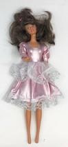 "Vintage Barbie Doll, Brides Maid, Mattell, China, Brunnet, 12,"" 1966, Lace Trim - $25.97"