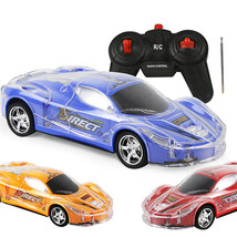 An item in the Toys & Hobbies category: 4WD 1/24 RC Remote Control Light Up Racing Car W/ 3D Flashing Lights Drive Toy