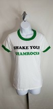 Victoria's Secret PINK T-Shirts NWT/ Size L White & Green **ST PATRICK'S... - $9.89