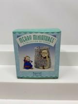 Hallmark Merry Miniatures Rapunzel 2 Piece Set Figurines 1998 Prince - $5.93