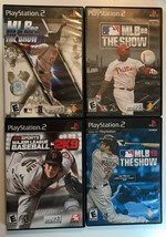 Lot of 4 Major League Baseball PS2 Sport Games~ MLB 10, 08, 06: The Show... - $12.99