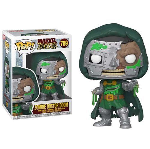 Marvel Comics Dr. Doom as a Zombie Vinyl POP Figure Toy #789 FUNKO UNUSED NIB - $8.79