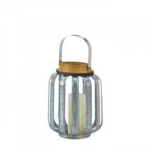 Small Galvanized Metal Lantern - $24.38