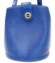 LOUIS VUITTON Epi Leather Blue Cluny Shoulder Bag - $593.01