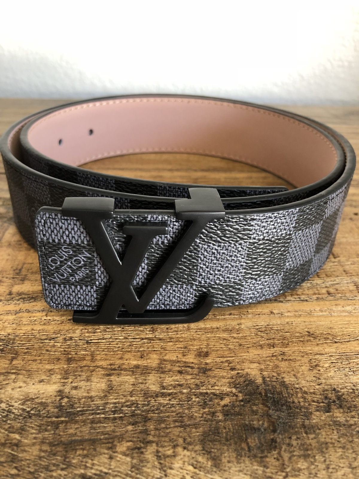 399ecf3b9503 AUTHENTIC Louis Vuitton Damier Graphite Belt and 33 similar items. Img 0526