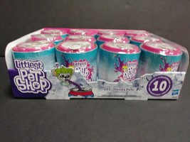 Littlest Pet Shop LPS Thirsty Pets Toys, 10 to Collect Full Case of 12 C... - $82.24