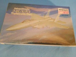 97 McDonnell Douglas F-15A Eagle War Planes Minicraft Model Kit 1/144 Scale.NEW - $11.29