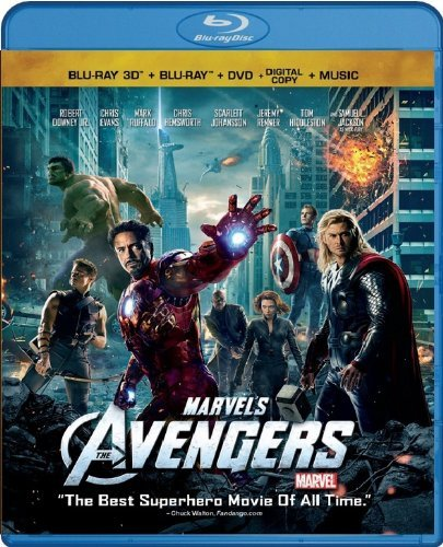 Marvel's: The Avengers (3D Blu-ray + Blu-ray + DVD)