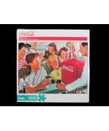 "Coca-Cola Buffalo Games Puzzle 1000 Pieces ""Soda Fountain"" - BRAND NEW! - $18.32"