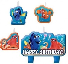 Finding Dory Birthday Candles 4 Pieces - $15.18