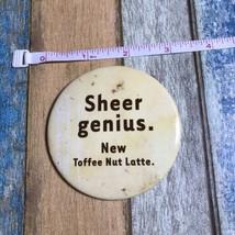 2003 Starbucks Coffee Barista Pin Sheer Genius Toffee Nut Latte Only Emp... - $6.99