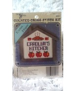 "The New Berlin Mini Counted Cross Stitch Kit 'Carolyn's Kitchen"" - $16.99"