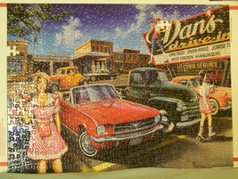 Classics - Masterpieces Jigsaw Puzzle 500 Piece (missing 2) #30932 Red Mustang - $8.98