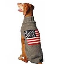 American Flag Dog Sweater Chilly Dog Hand Knit Wool  XXS-XXXL Pet Puppy ... - $32.66+