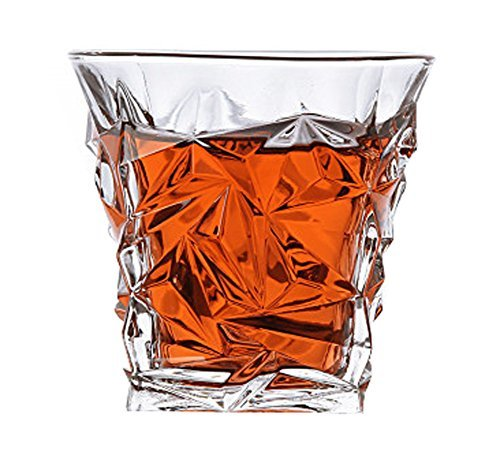 DRAGON SONIC Creative Lead-Free Crystal Quartet Glass Whiskey Beer Mug,A1 - $18.40