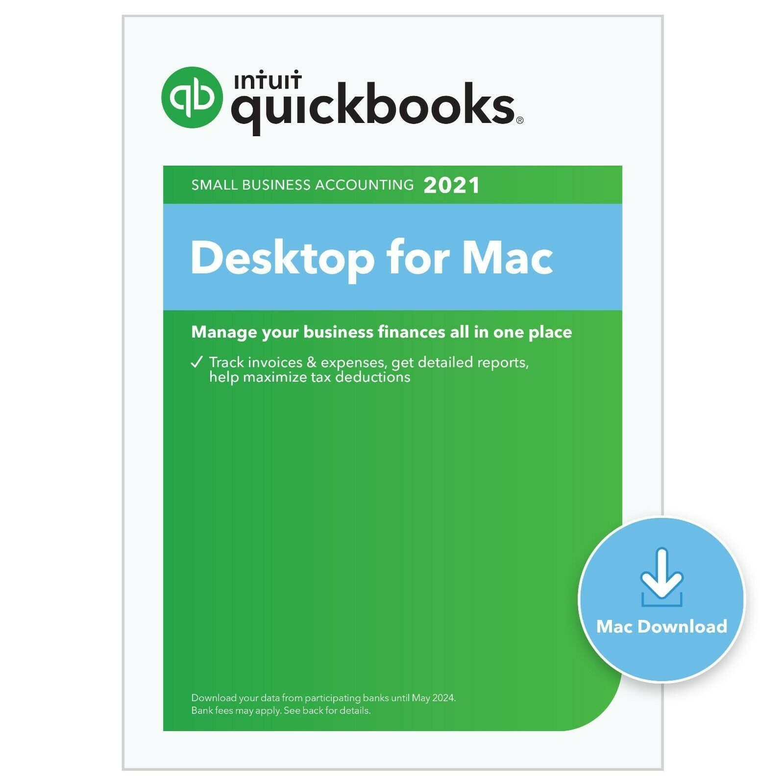 Primary image for 3 user QuickBooks Desktop PRO for Mac 2021 (Download)