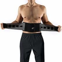 """Lumbar Lower Back Brace Support Belt for Men & Women XXL: 39""""-45"""", Lumbar Suppor"""