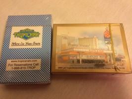 Sealed New Cards Las Vegas Tropicana and Slots-A-Fun Casino Set of 2 Decks - $6.95