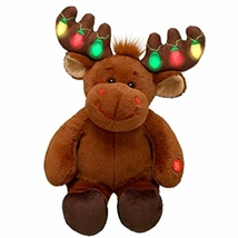 """An item in the Toys & Hobbies category: Build A Bear Hal 17"""" Plush Christmas Moose"""