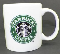 Starbucks Logo Mug 9 Oz Coffee Cup With Mermaid Split Tail Logo - $8.99