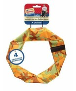Ethical Pet Americas Vet Dog Camouflage Twisty Ring Dog Toy Squeakers 9-... - $6.92