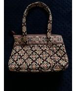Vera Bradley Maroon Over the Shoulder Purse / Handbag Used - $8.01