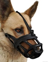 Dog Muzzle, Breathable Basket Muzzles for Small, Medium, Large and X-Lar... - $24.96
