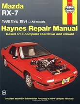 Mazda Rx-7 Automotive Repair Manual/1986 Thru 1991, All Models/No. 61036... - $17.21