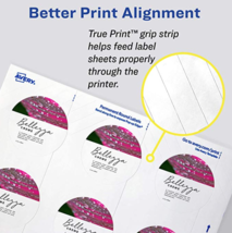 New Avery 22817 2 Inch Diameter Round Glossy White Print To The Edge Labels 60 image 5