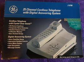 GE 25 Channel Cordless Telephone Digital Answering System 2-9790 - $41.95