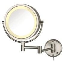 Jerdon HL75N 8.5-Inch Lighted Wall Mount Makeup Mirror with 8x Magnifica... - $61.99