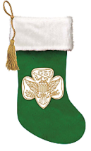 Girl Scouts Of The Usa Stocking W - $18.99