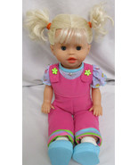 Rare FISHER PRICE LITTLE MOMMY INTERACTIVE PLAY ALL DAY TODDLER DOLL 2005 - $24.73