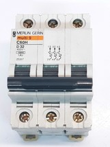Merlin Gerin C60H Multi9 D32 Circuit Breaker 25207 - $22.80