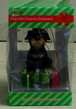 BRAND NEW IN BOX Paws Claus Dog With Presents 2012 Holiday Ornament, NEW - $6.92