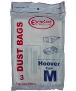 3 Hoover Dimension Canister Type M Vacuum Dust Bags, Fits all Dimension ... - $6.20
