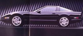 1990 CORVETTE PRESTIGE COLOR BROCHURE, C4 GM MINT NOS 90, with Envelope - $17.82